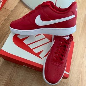 Nike court vision low red